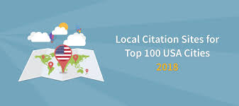 Local Citation Sites For Top 100 Us Cities Usa City Citations 2018