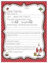 Thank You Santa Letter Template Brillant Me