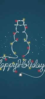 Wallpaper Happy Holidays 1125x2436. Download