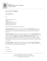 Cover Letter To University Cover Letter Template University Cover Letter For Resume