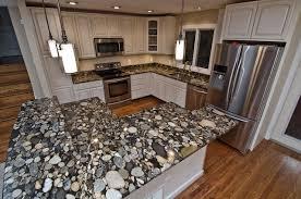 save black mosaic gold granite