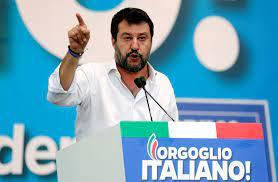 C'è da aggiungere che salvini è anche vicepremier, e lo rivendica tutti i giorni. Italy S Matteo Salvini Faces New Trial Risk For Holding Migrants On Ship The Japan Times