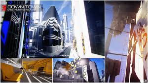 Designing A Town D D Designing The Futuristic City Of Glass For Mirrors Edge