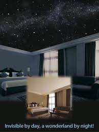 bedroom lighting ideas pinterest. Breathtakingly Realistic Illusionary Mural Of The Starry Night Sky Painted Directly On Your Ceiling And Even Walls With Lights Room Looks Bedroom Lighting Ideas Pinterest