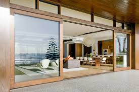 glass sliding doors exterior for