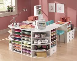 Craft Storage Ideas Desk