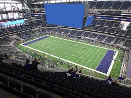 At T Stadium View From Upper Reserved 438 Vivid Seats