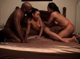 Ebony amateur threesomes new