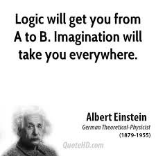 From Albert Einstein Quotes About Imagination. QuotesGram via Relatably.com