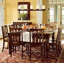linear chandelier dining room modern
