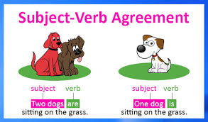 Subject And Verb Agreement Anchor Chart Subject Verb Agreement Lessons Tes Teach