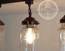 chandelier track lighting. plain track mason jar lighting track single one vintage quart  chandelier pendant  farmhouse flush mount ceiling fan with track lighting i