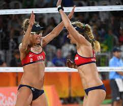 Why do women beach volleyball players ...