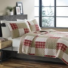 Amazon.com: Eddie Bauer Cotton Quilt Set, Full/Queen, Camino ... & Amazon.com: Eddie Bauer Cotton Quilt Set, Full/Queen, Camino Island Adamdwight.com