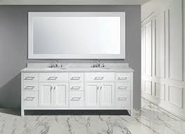 double sink bathroom vanity cabinets white. london stanmark 84\u2033 double sink vanity set in white finish   design element bathroom cabinets a