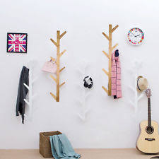 Wall Coat And Hat Rack Wall Coat Hook Rack 100pct Solid Wood 100 Decorative Wooden Pegs for 50