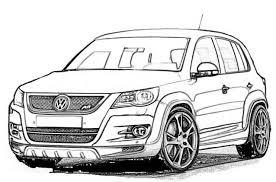 Kleurplaat Volkswagen Golf Autos 20 Ausmalbild Kleurplatenlcom