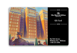 skirvin hilton hotel gift card