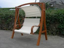 Garden Swing Seat With A Canopy Buydirect4u And Gorgeous Garden Swing Chair  (View 9 of