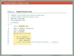 Simple Program Design Advanced Program Design With C Ppt Download