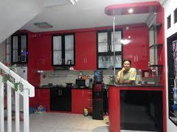nuansa mewah kitchen set minimalis dengan mini bar minimalis kitchen set murah bikin kitchen