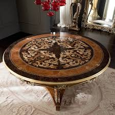 classic table wooden round casanova