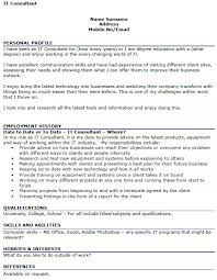 Ideas Collection Resume Cv Cover Letter Sample Sap Consultant