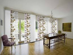 window treatment ideas for sliding glass doors with charming unique window treatment and modern chandelier and laminate flooring