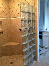 glass block seattle glass block showers shower kits with regard to blocks for ideas 6 seattle