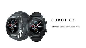 <b>CUBOT C3 Smartwatch</b> : Price, Review & Specification
