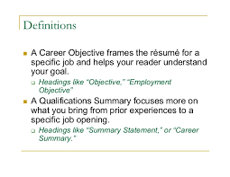 opening objective for resume your career objectives military bralicious co