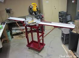 portable chop saw table. portable chop saw table a