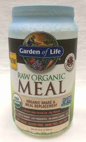 garden of life raw chocolate meal replacement