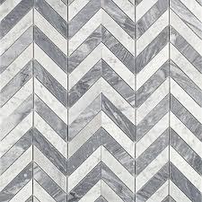 splashback tile dart white carrara and bardiglio marble mosaic tile 3 in x 6