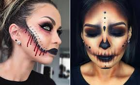 21 creepy halloween makeup ideas page
