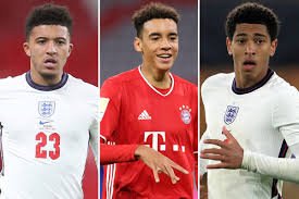 Jude bellingham becomes the youngest englishman ever to score in champions league as he opens his account in europe with a stunner against manchester city. Jamal Musiala Is Following In The England Footsteps Of Jadon Sancho And Jude Bellingham And May