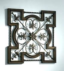 large wrought iron wall art outdoor wall hangings metal metal wall hangings wrought iron home decor