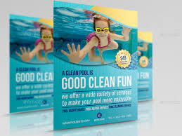 pool service flyers. Swimming Pool Cleaning Service Flyer Template Pool Service Flyers