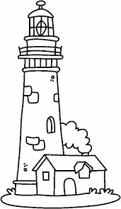 Malvorlagen leuchtturm malvorlage leuchtturmbilder für schule und unterricht. Coloring House Of The Guard Of The Lighthouse Picture Lighthouse Pictures Lighthouse Drawing Lighthouse