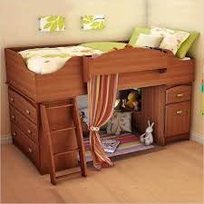 kids wooden bunk beds south s imagine twin loft bed in cherry wooden bunk beds for