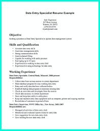 Data Entry Clerk Job Description For Resume Free Resume Example