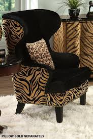 animal print chairs living room. safari wing back chair. for those of you who really know me that i love animal print (leopard, tiger, etc. chairs living room