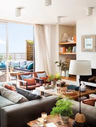 apartments interior design. Barcelona Duplex With A Huge Terrace And Exquisite Decorations Apartments Interior Design