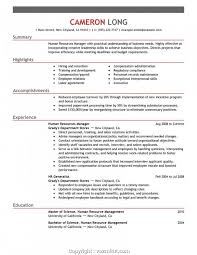 Human Resources Resume Sample Interesting Resume Human Resources Assistant Resume Examples Resume Summary