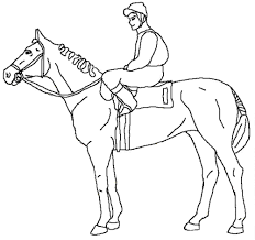 Image Race Horse Coloring Pages With 100 To Download And Print Of 1