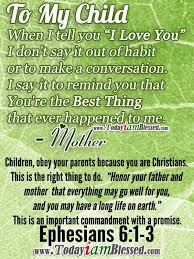 Bible Quotes About Children Delectable Bible Quotes For A Father On QuotesTopics