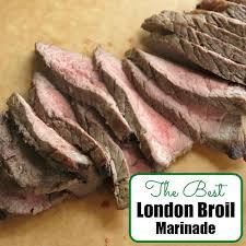 Best London Broil Marinade Recipe