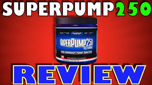 superpump 250 with dmaa by gaspari nutrition review