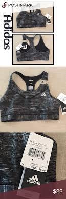 Adidas Medium Support Sports Bra Nwt Available In Medium Or