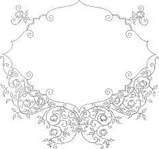 バラ 花柄 フレーム Pixabayの無料ベクター素材
